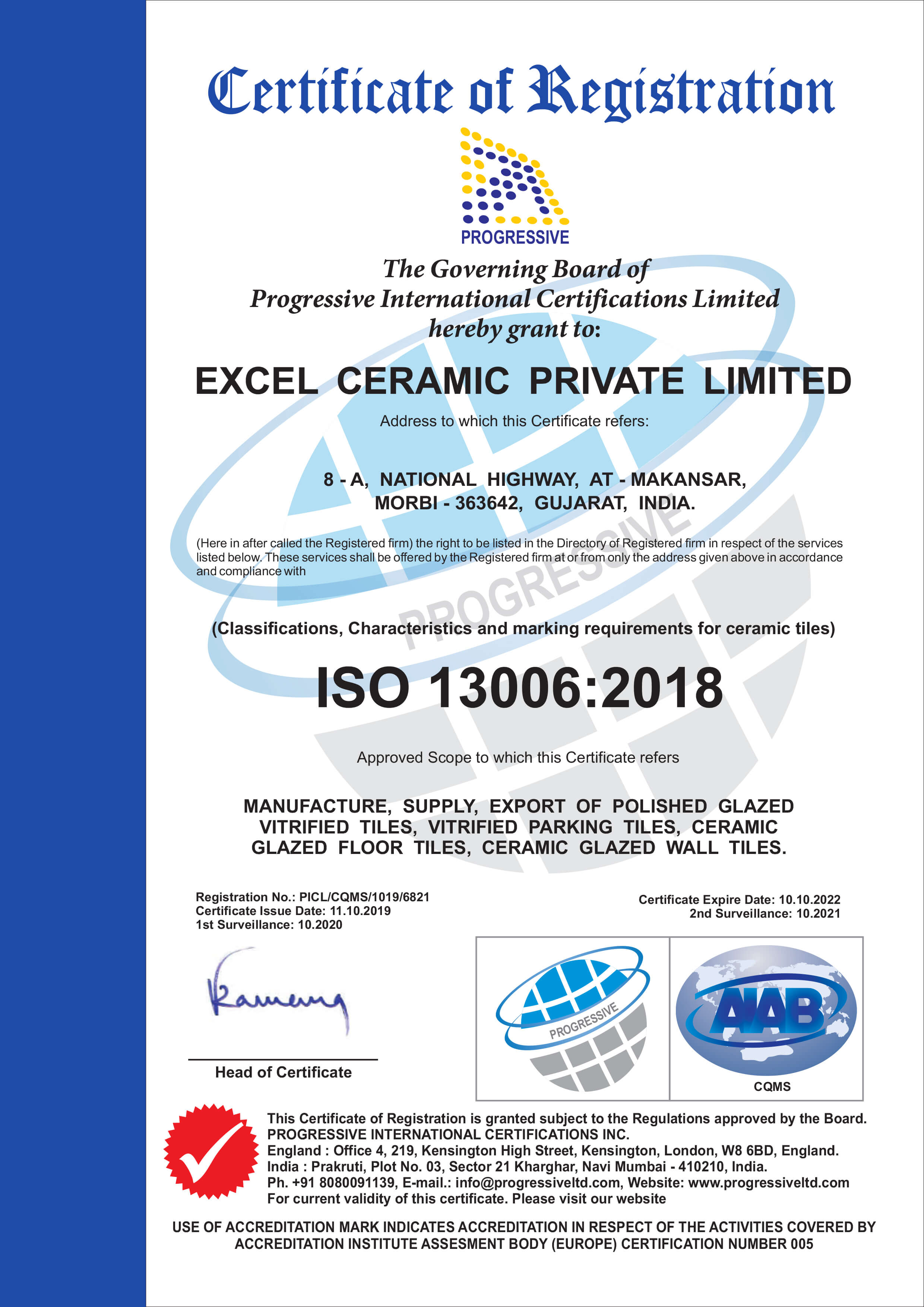 ISO 13006:2018