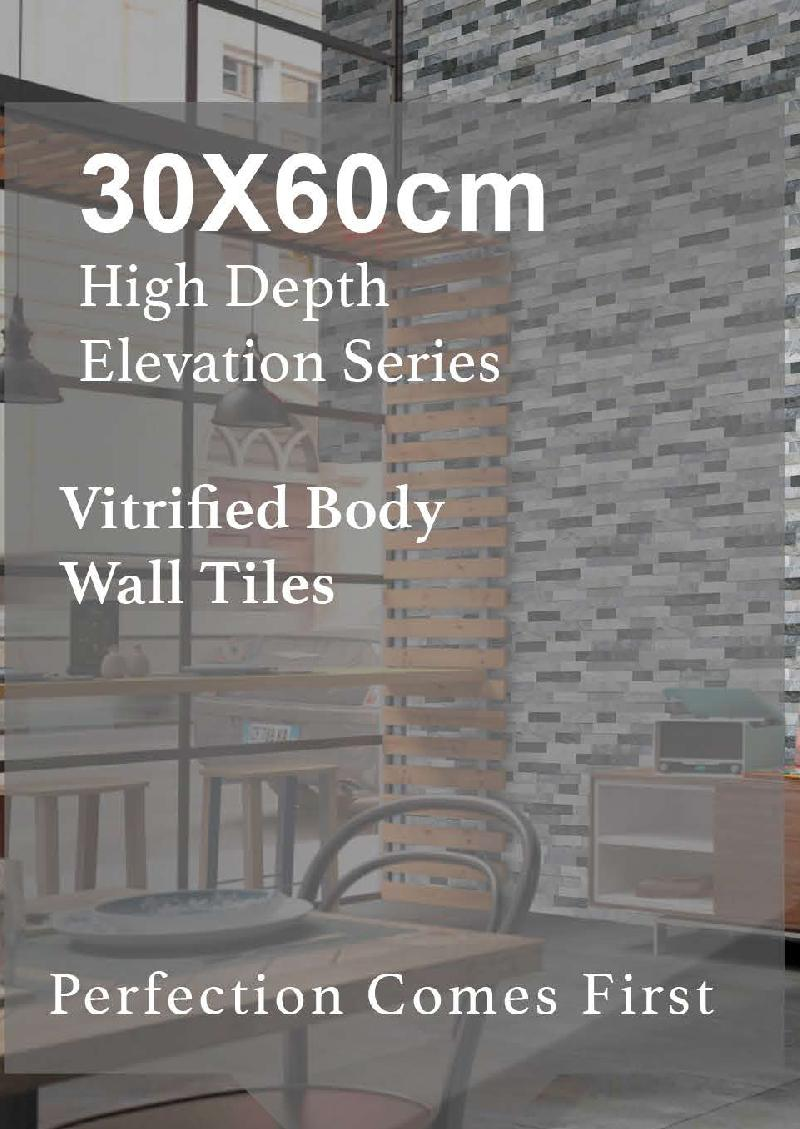 High Depth Vitrified Elevation Tiles